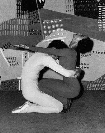 Angel Vianna e Cemy Jambay em 'Marília de Dirceu' / Foto do Acervo Klauss Vianna