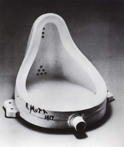 A fonte Marcel Duchamp / Foto divulgação