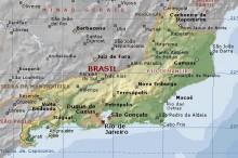 Mapa Estado Rio de Janeiro / Divulgação