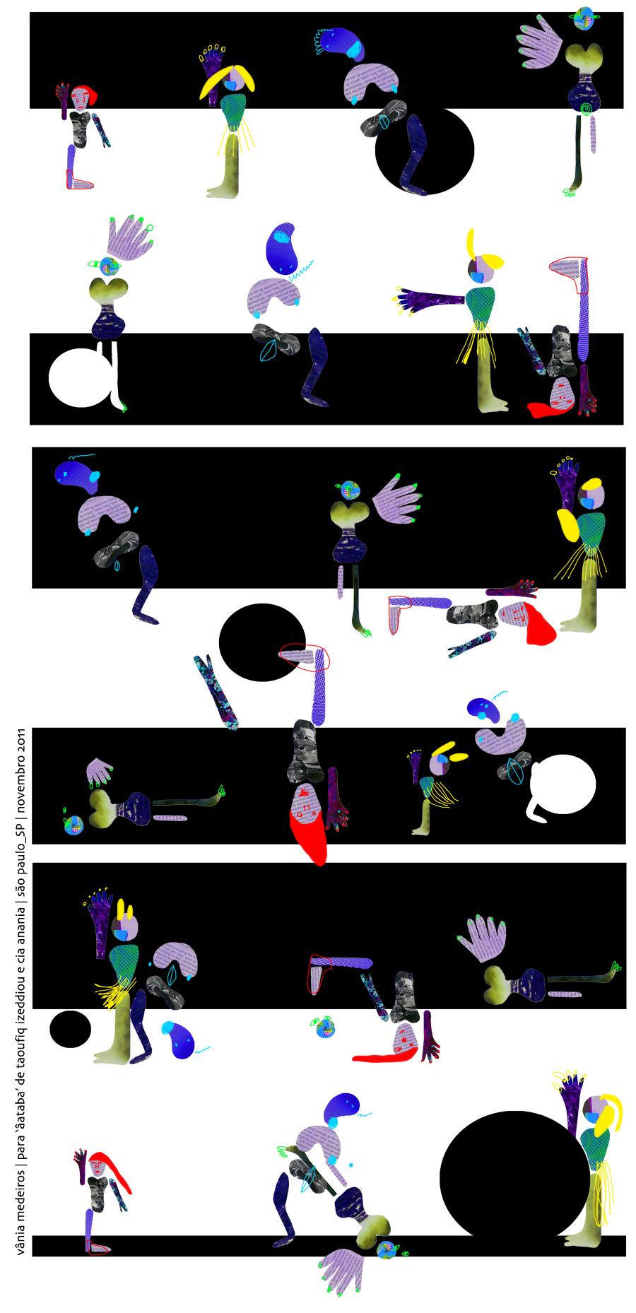 Aataba de Taouffik izzediou / Ilustração: Vania Medeiros